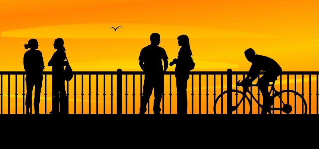 Ludzie na moście, relacje