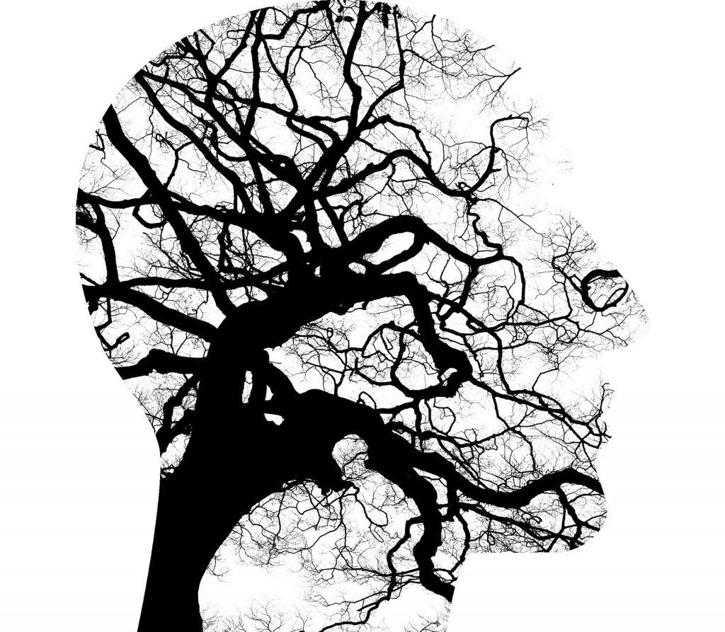 głowa psychologa